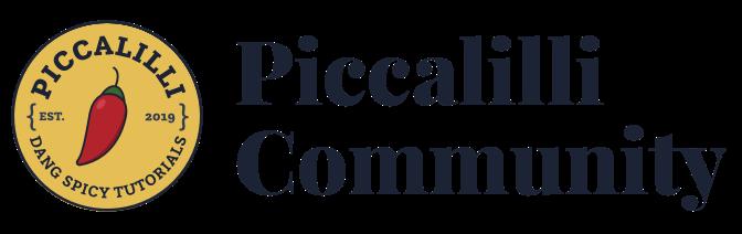 Piccalilli Community